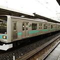 Photos: 我孫子駅で発車を待つ209系1000番代マト81編成