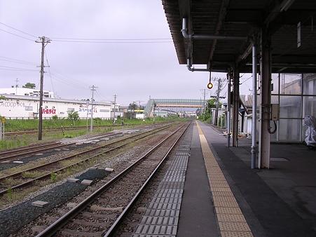 八雲駅ホーム2