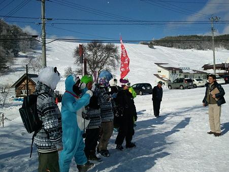 東村山四中お見送り 2012-01-24 (2)