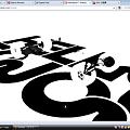 写真: Opera Next (Wahoo):WebGLデモ(Formula 1)を試す