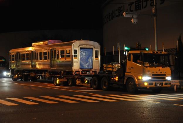 京王電鉄 井の頭線 3000系 3728F クハ3728 搬出 陸送