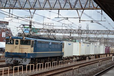 EF65 1119@金町駅[9/5]