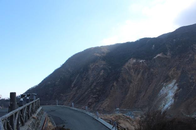 大涌谷の山2