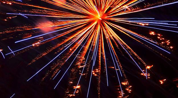 燃える宇宙線