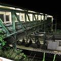 深夜の根府川駅