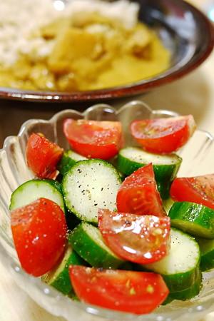 お気に入りのシンプルサラダ