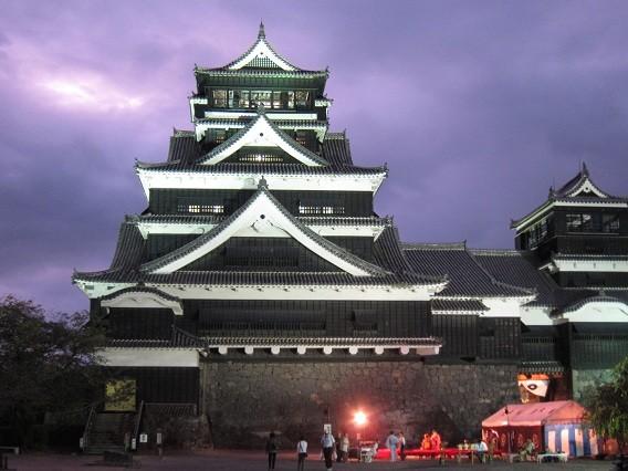 Photos: 中秋の名月 熊本城1