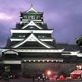 中秋の名月 熊本城1