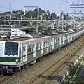 東京メトロ6000系 北小金駅付近