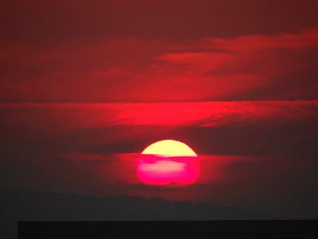 20120523博多の夕陽