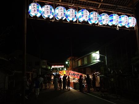 足助夏祭りの夜店