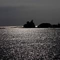 那智湾の輝き
