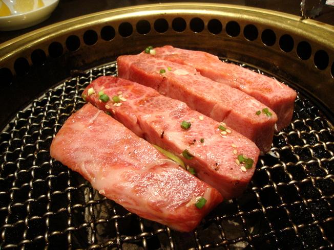 塊肉祭り,焼いてます5