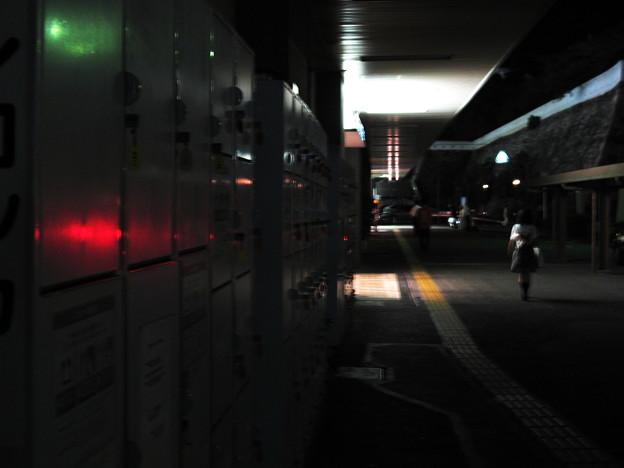 駅前の光景