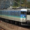 Photos: 554M 115系長ナノC8編成 6両
