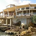 Photos: 海側から見たレストラン