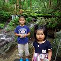 写真: 瓜割の滝