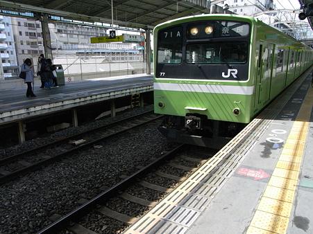 201系関西本線(新今宮駅)1