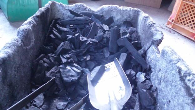 クヌギの木炭