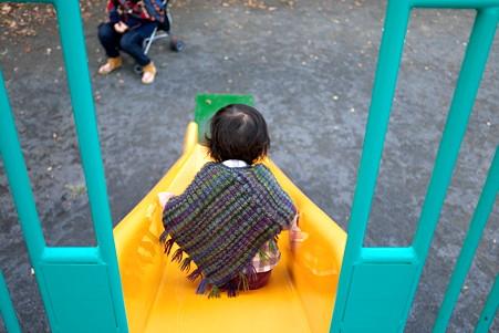 2011.11.18 公園 姫・滑り台
