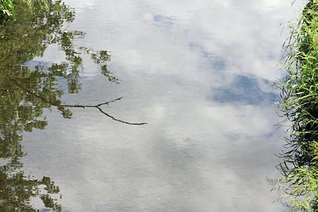2012.05.16 和泉川 空流れ