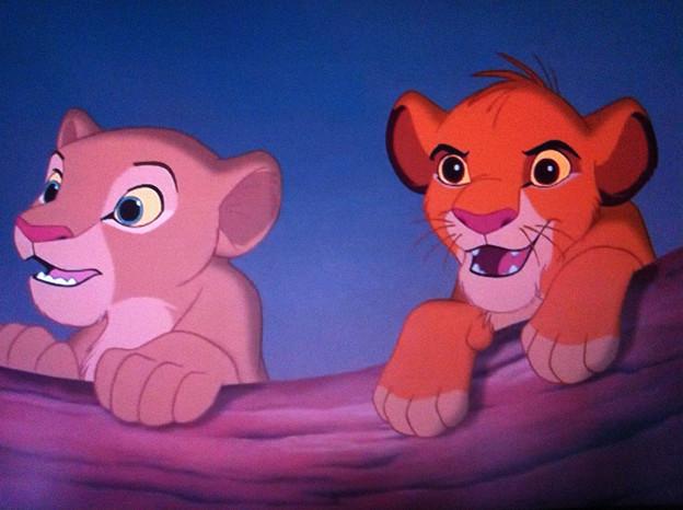 ライオンキング シンバとナラ