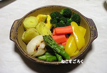 20120217 ばんごはん 温野菜
