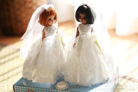 Make Believe Bride Tosca & Dru-1