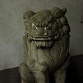 Photos: 稲荷神社狛犬吽形