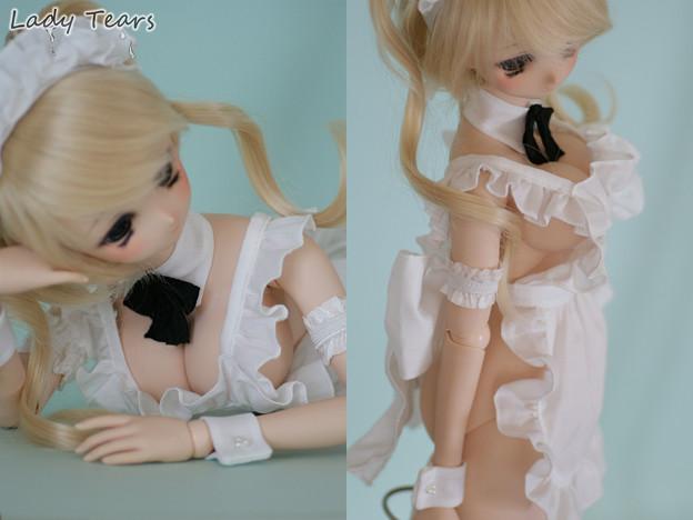 §Lady_Tears§エプロンセット§DD L胸/DDdy§Charming Maid