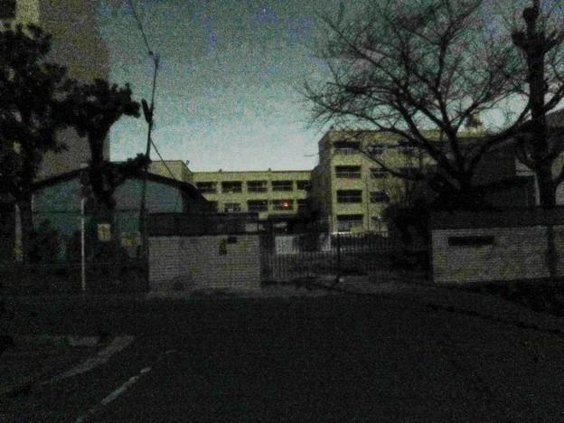 停電 in学校