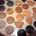 Photos: TEE-CRAFTオリジナルワンコインホルダー。縁の部分乾燥中!