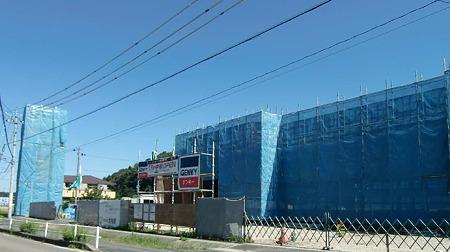 ゲンキー可児大森店 2011年11月中旬 オープン予定で建設中-230925-1