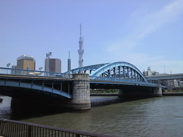 駒形橋とスカイツリー