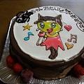 Photos: 誕生日 たまごっちケーキ
