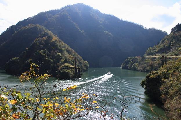 Photos: 庄川峡 遊覧船