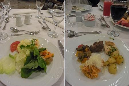 Photos: ビュッフェの夕食