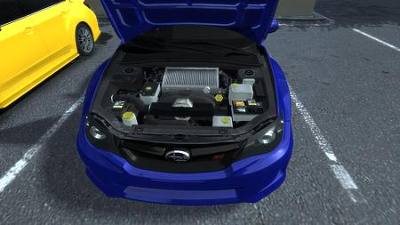 2011 Subaru Impreza WRX STi フード